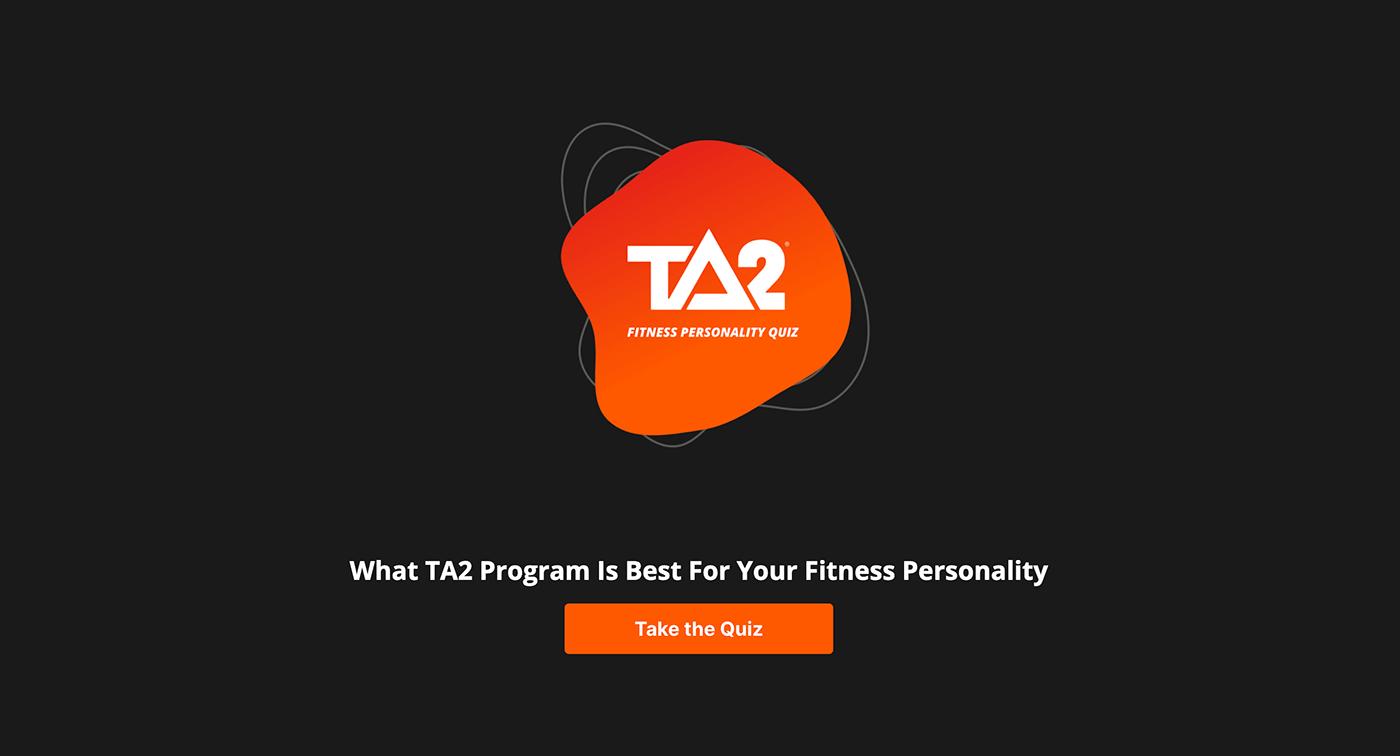 Undersun Fitness Recommendation Quiz Example