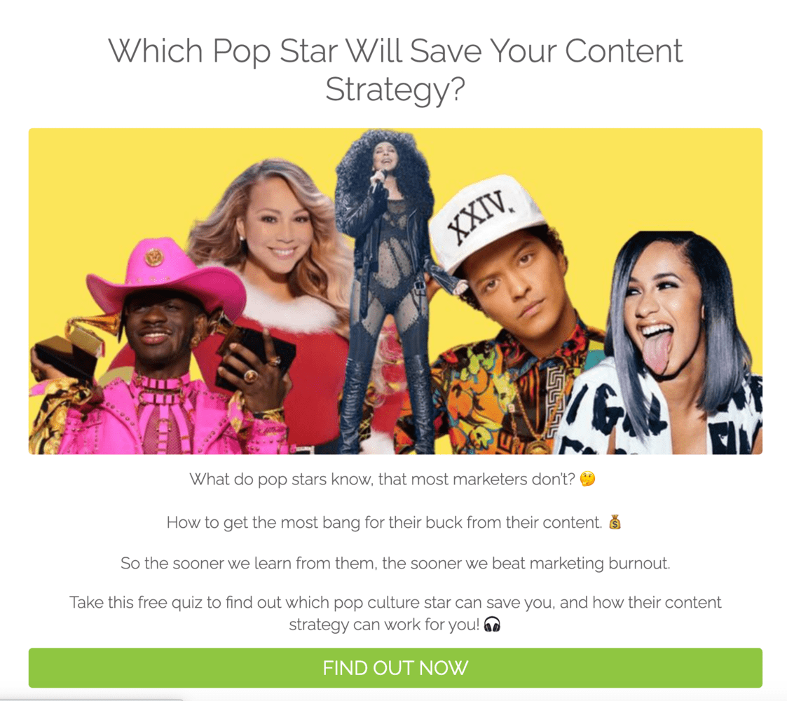 Brittany Berger Content Strategy Quiz Example