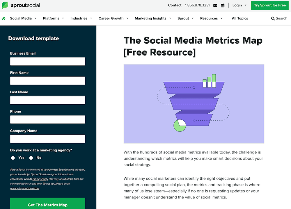 SproutSocial report form