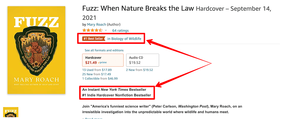 Amazon best seller tag