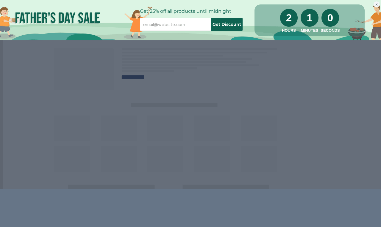 Father's Day Sale Sticky Bar Template
