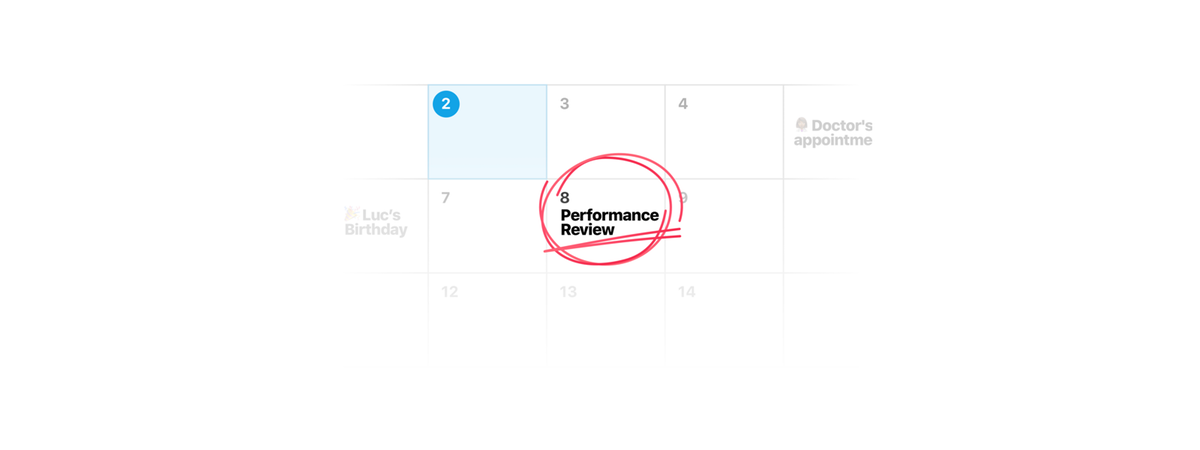 Your performance review is next week. Here's what you need to do.