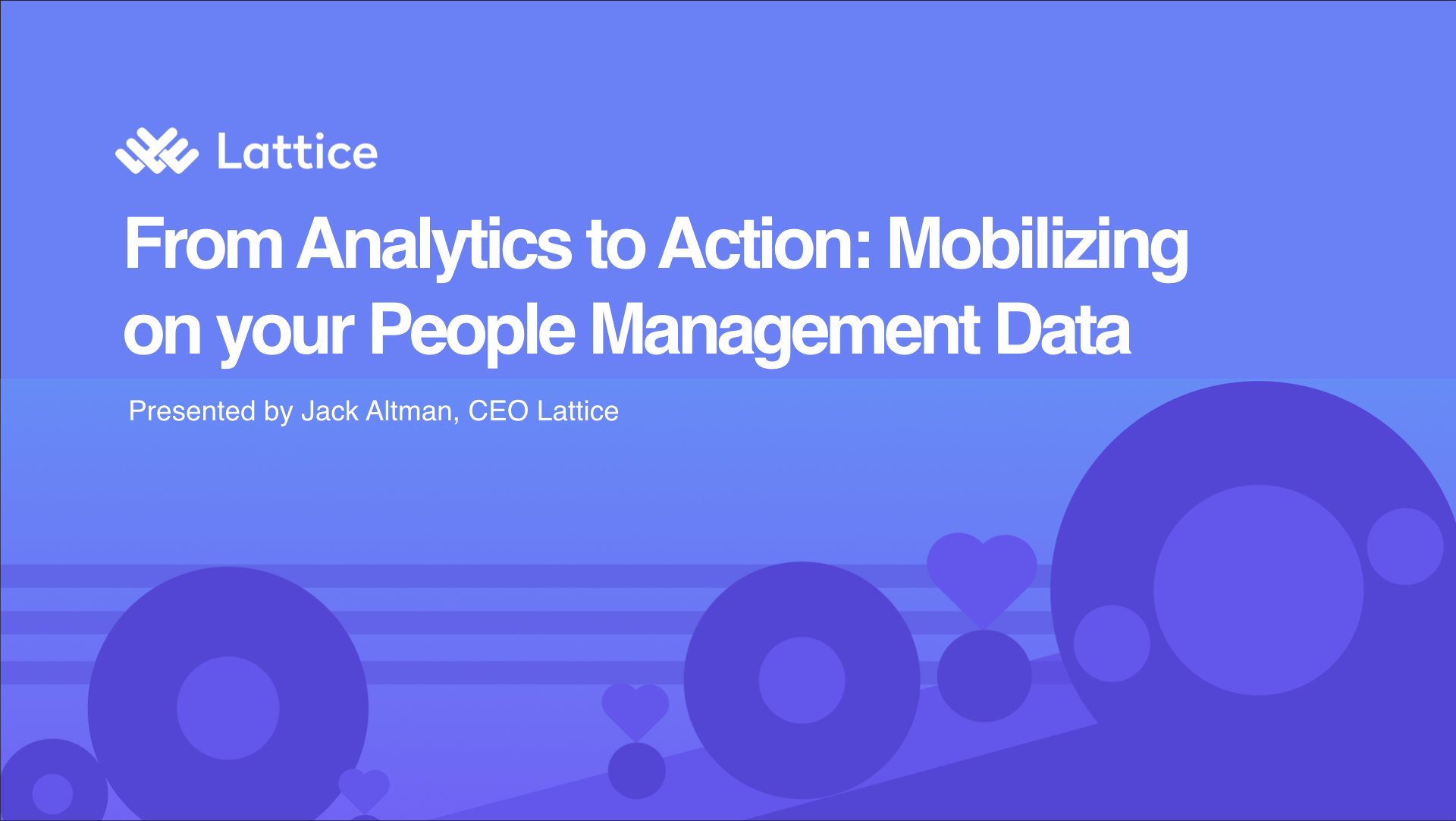 From Analytics to Action: Mobilizing Your People Management Data