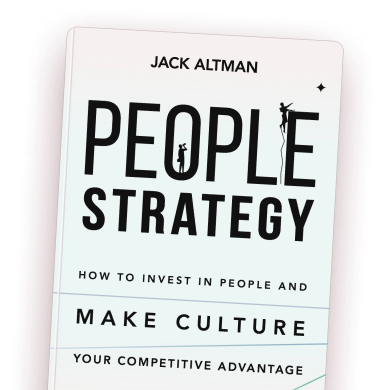 People Strategy book's cover