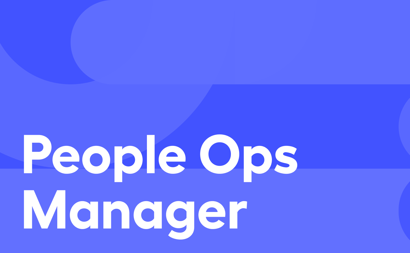 Webflow – People Ops Manager