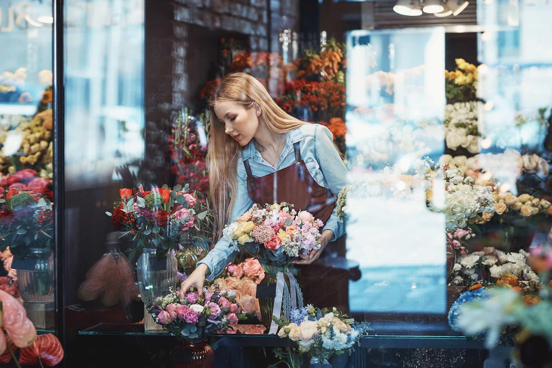 thiết kế Web bán hoa