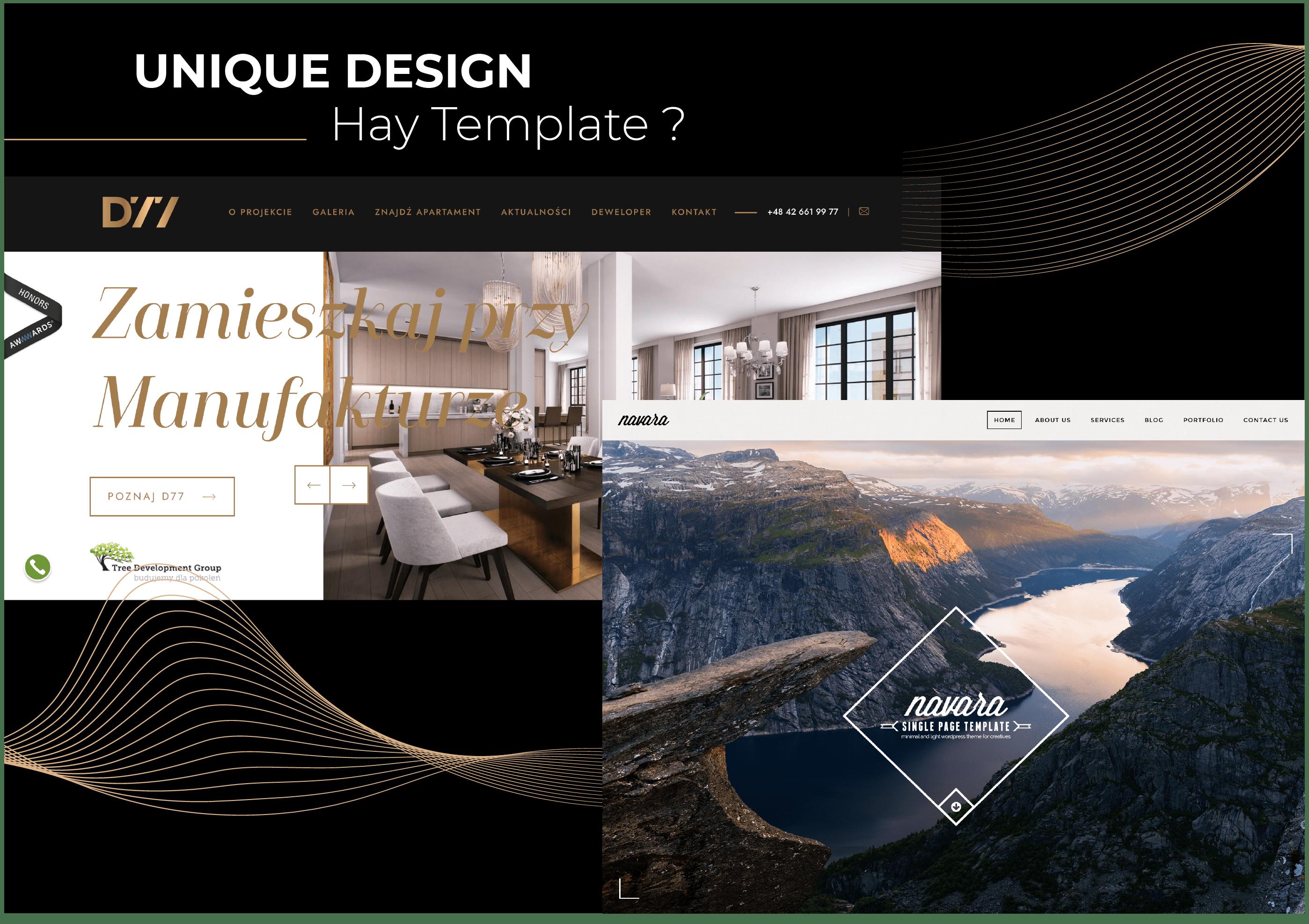 Thiết kế giao diện web nên sử dụng template hay tự thiết kế?