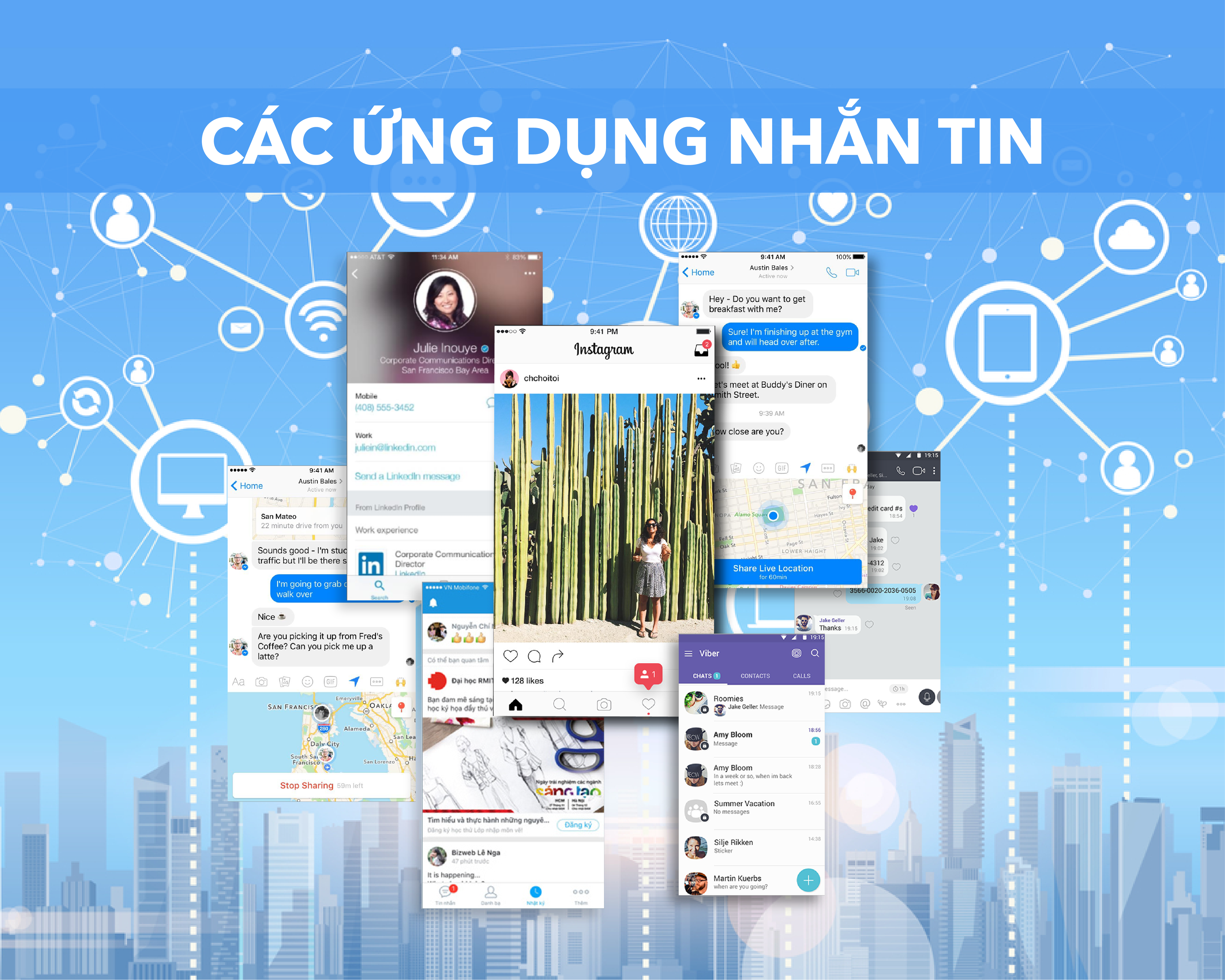 social media planning text apps