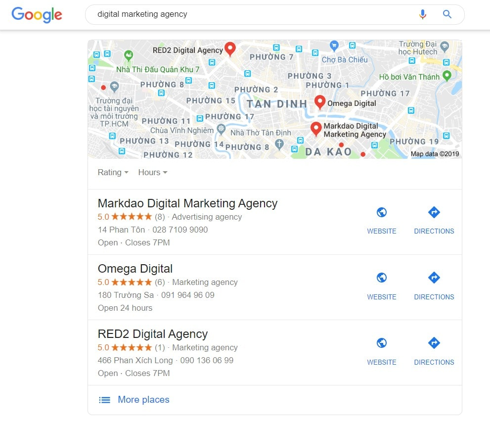 seo google map example 1