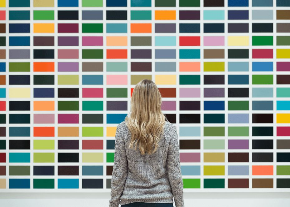 chọn màu để thiết kế website đẹp