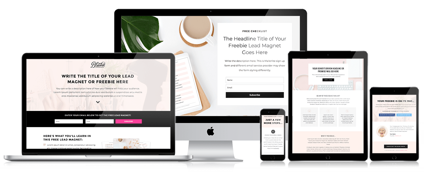 thiết kế website đẹp landing page