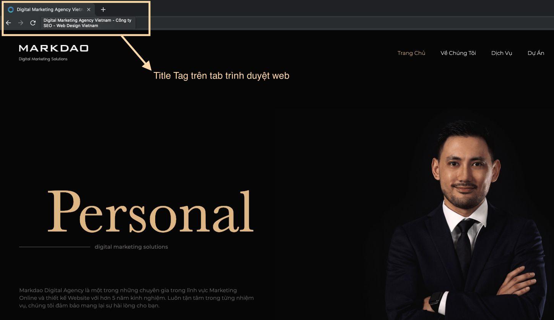 seo onpage title tag
