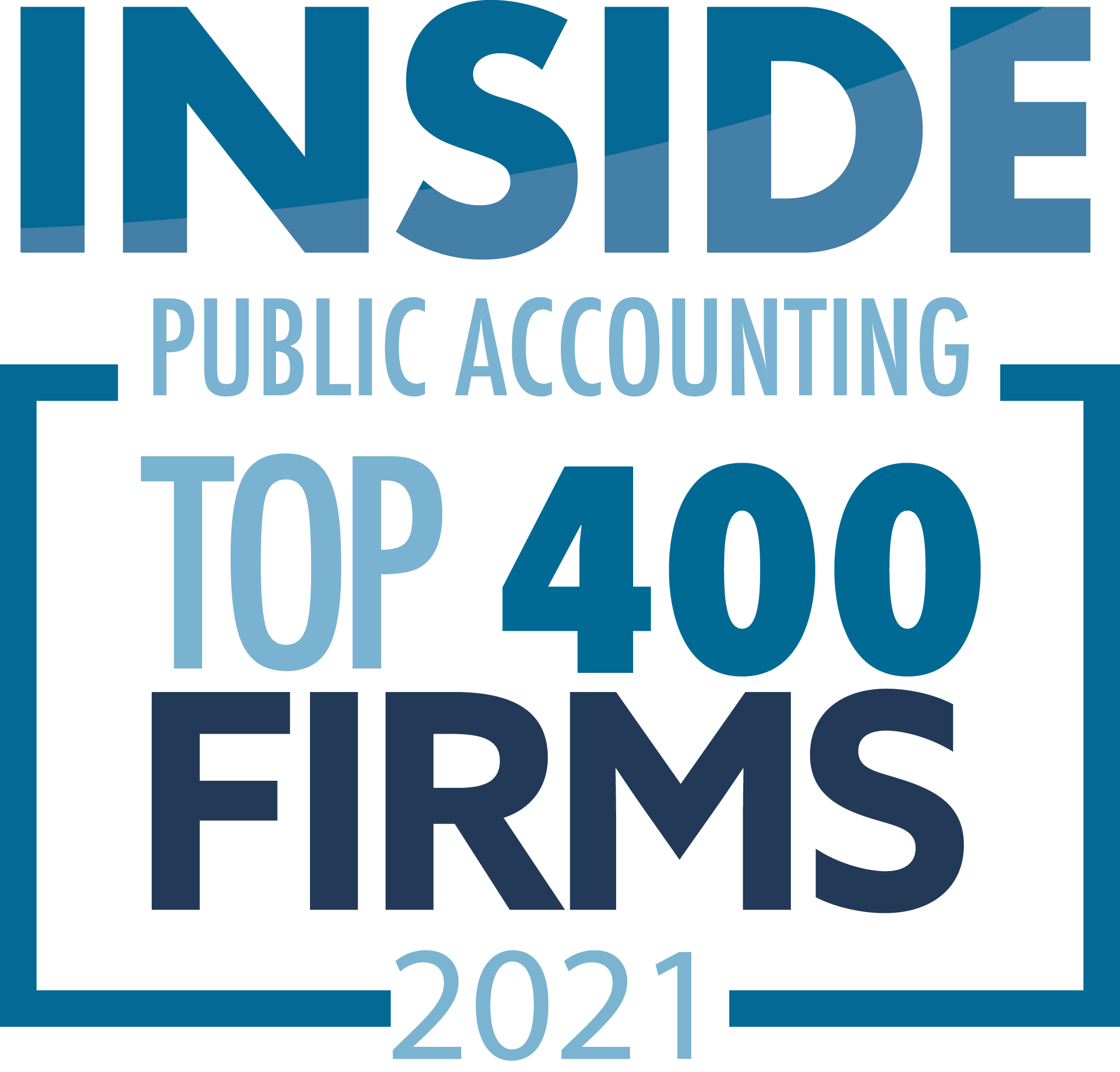 Inside Public Accounting Top 400 Firms 2021