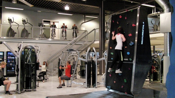 climbstation at the gym