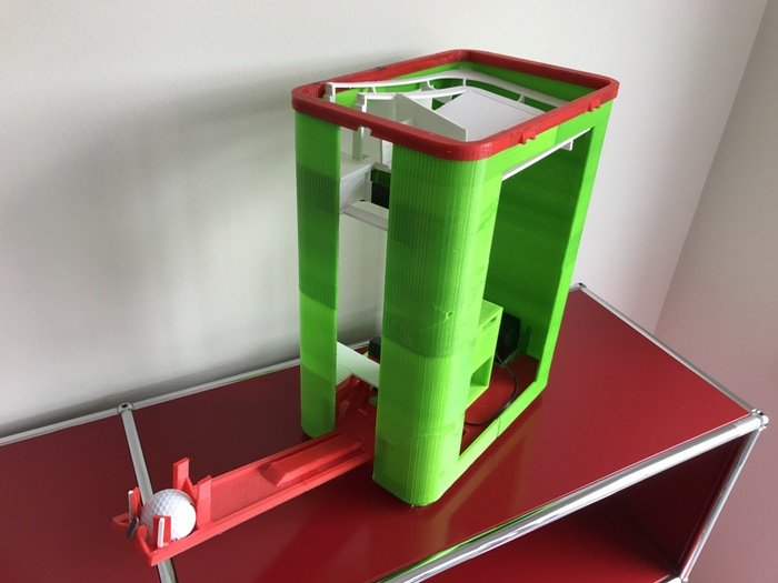 3d printed protorype t-up golf