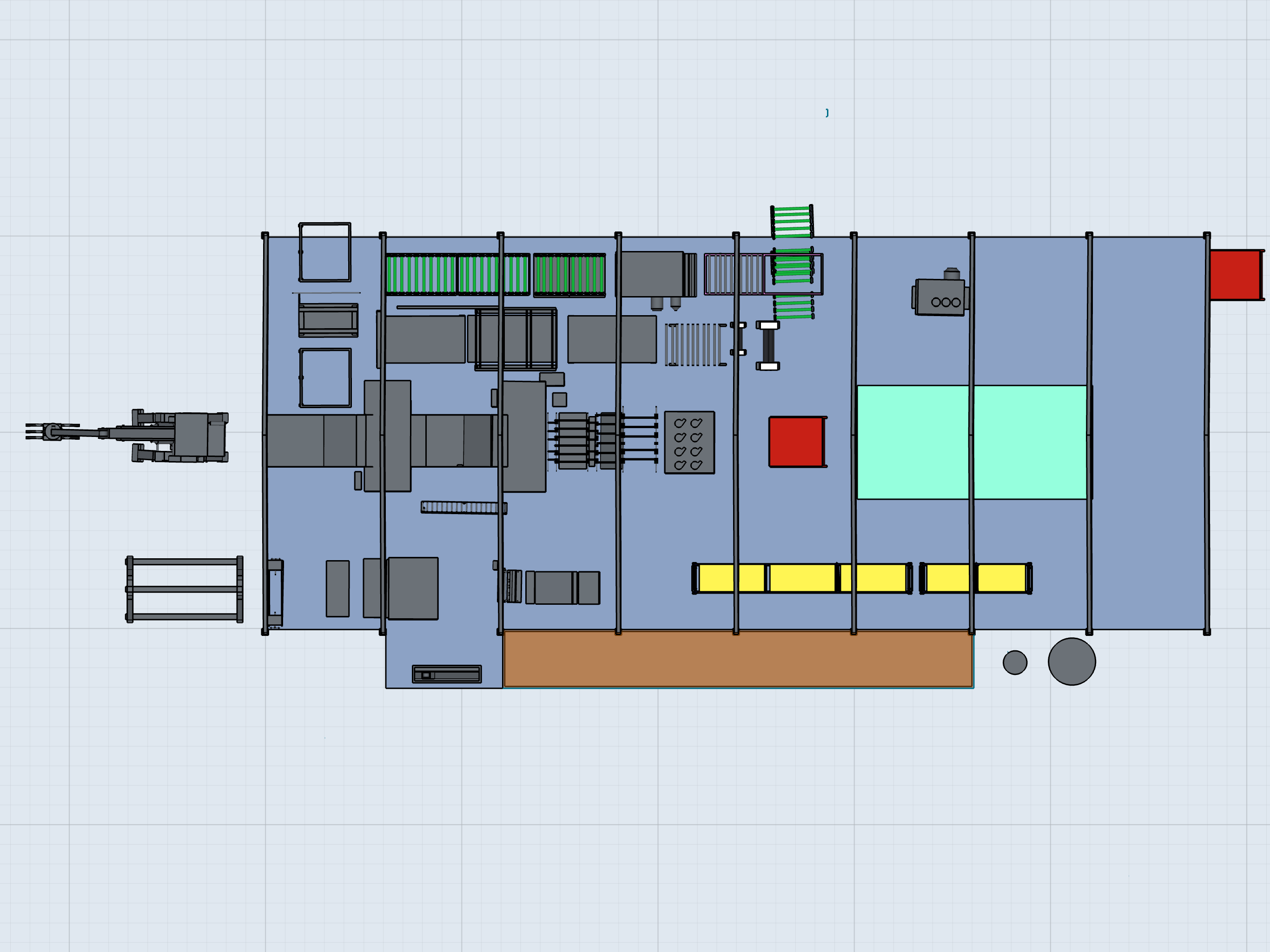 Production plant layout | Shapr3D