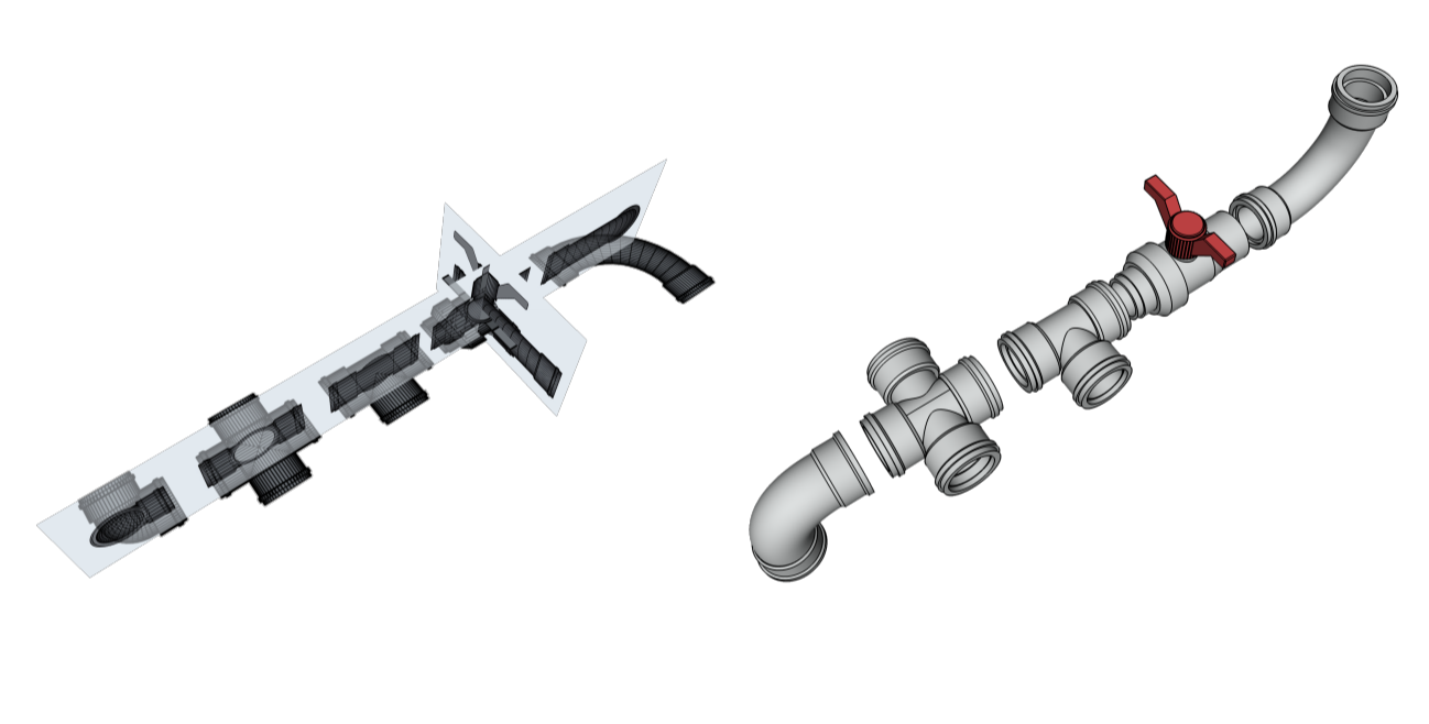 pipes 3d modeling