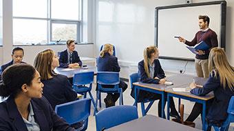 Education classroom image