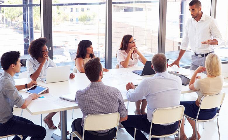 Team of business advisers