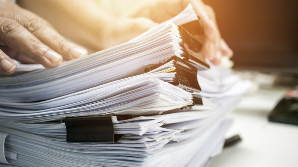 documents prepared for a business sale