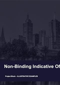 Non-Binding Indicative Offer (NBIO) Comparison