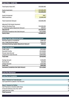 Settlement Schedule