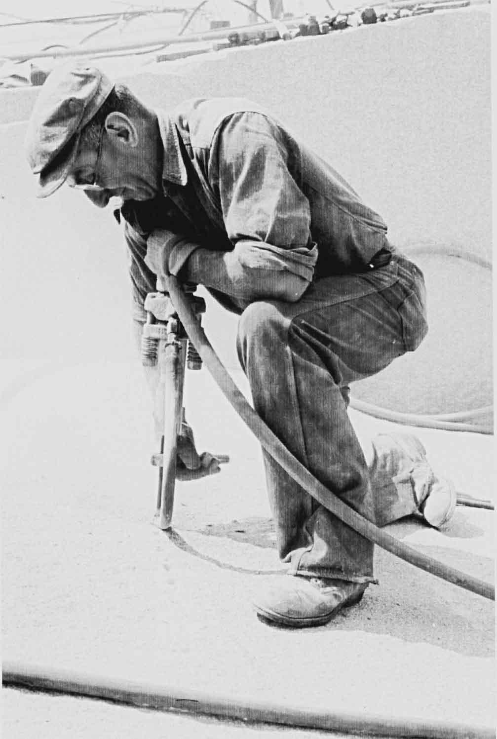 Adams Granite Historical Drilling
