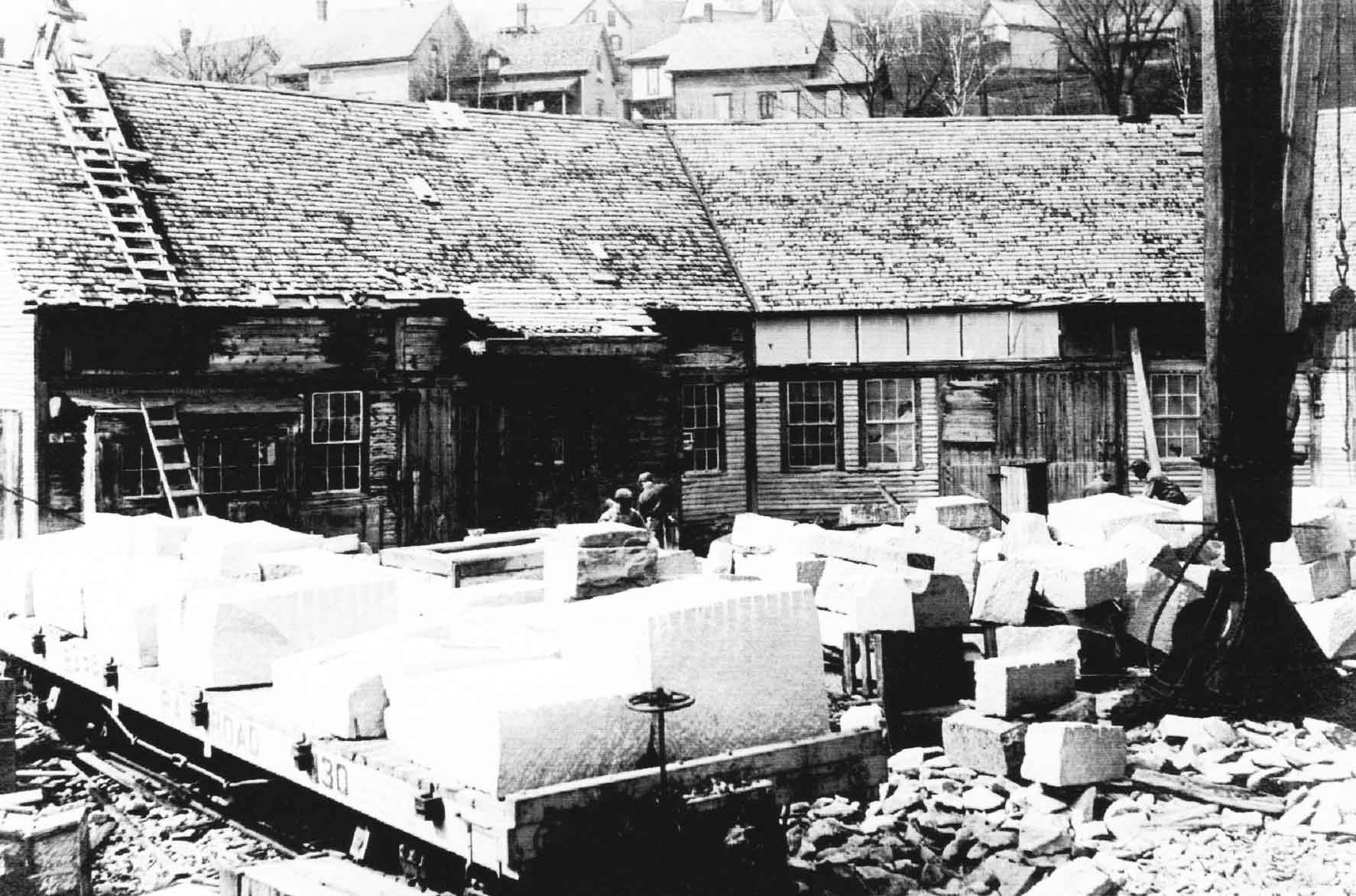 Adams Granite Historical Factory
