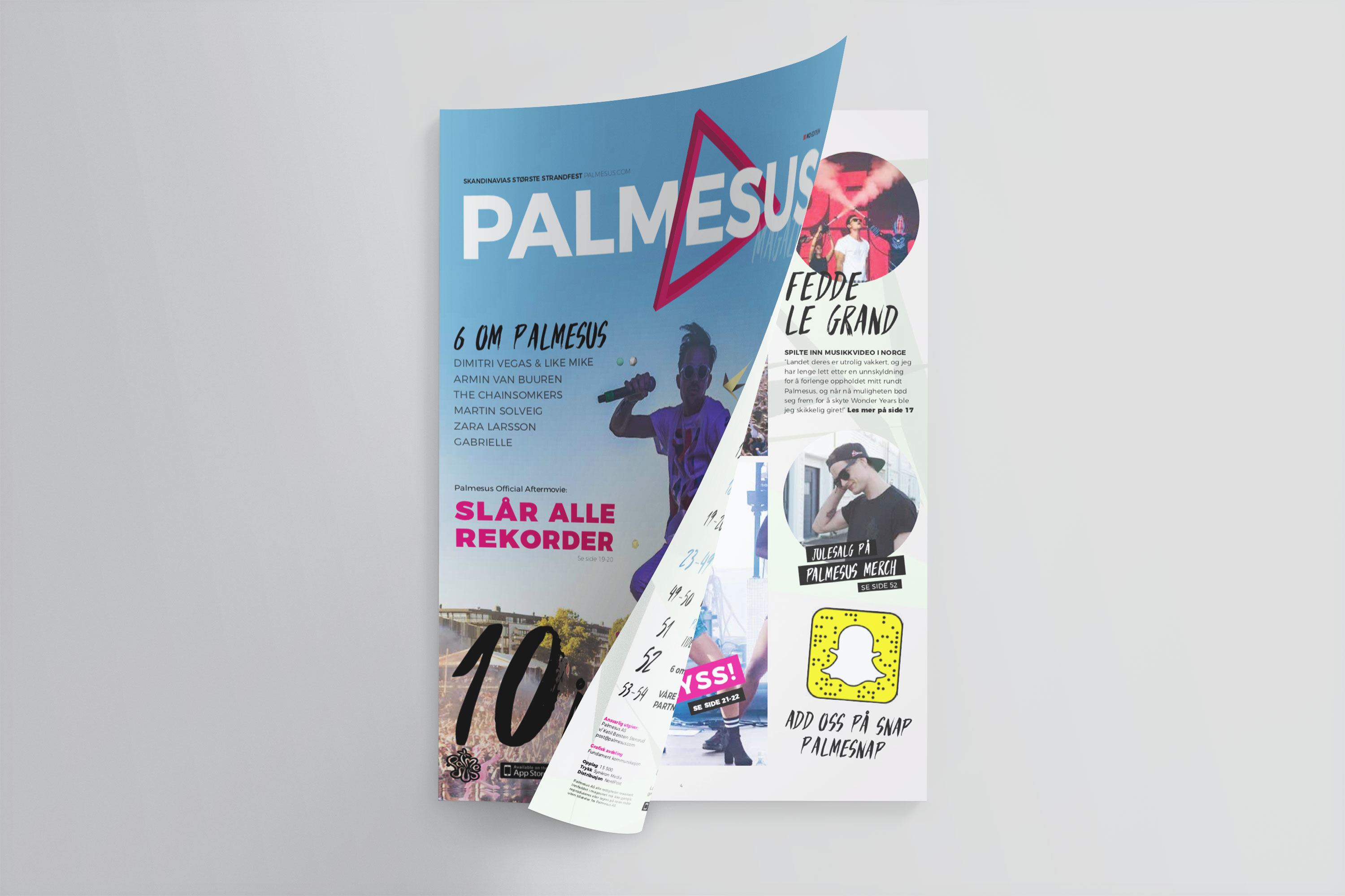 Magasiner for Palmesus