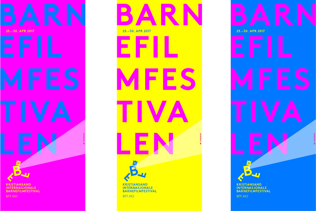 Identitetsdesign for Barnefilmestivalen