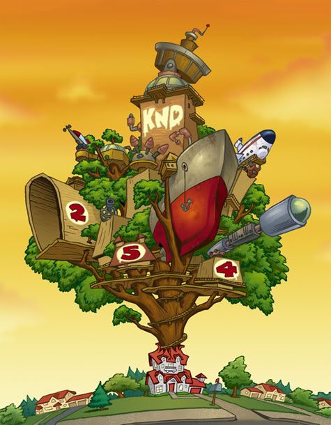 Kids Next Door treehouse