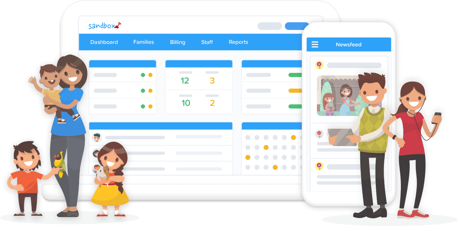 Child Care Software that's easy to use - Sandbox