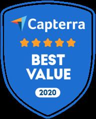Capterra Best Value Child Care Management Software Badge