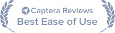 Voted Best Ease of Use by Users on Capterra