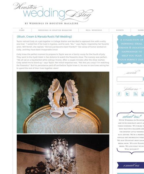 Blush, Cream & Marsala Rustic Fall Wedding