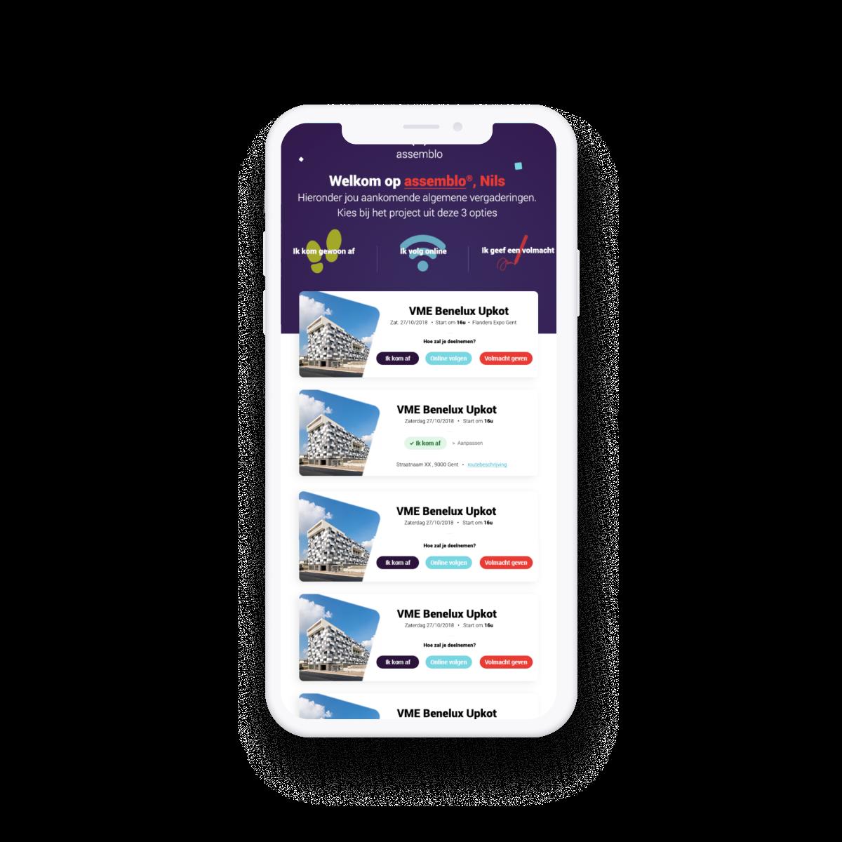 A compliant streaming platform for general assemblies.