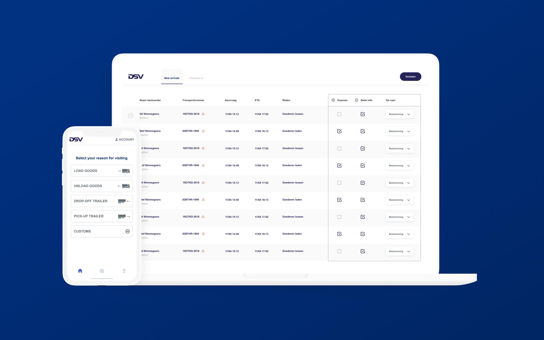 DSV Loading Dock Scheduling Application
