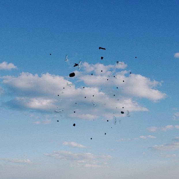 Figura 1. Esquema da percepção de Moscas Volantes. (Fonte: Rede Olhos)