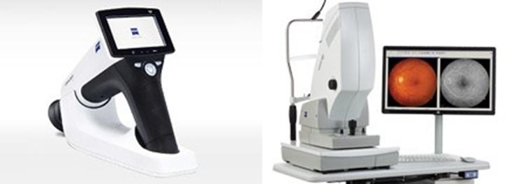 Retinografia - retinógrafo