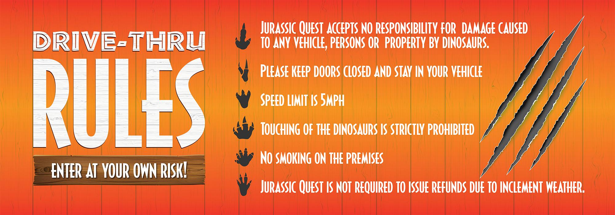 Jurassic Quest Rules
