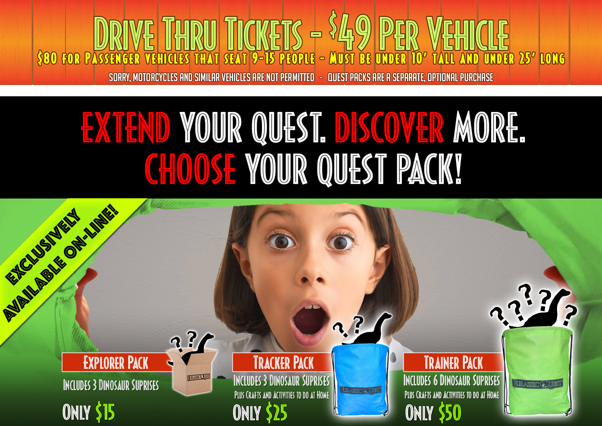 Extended your quest with Quest Packs.
