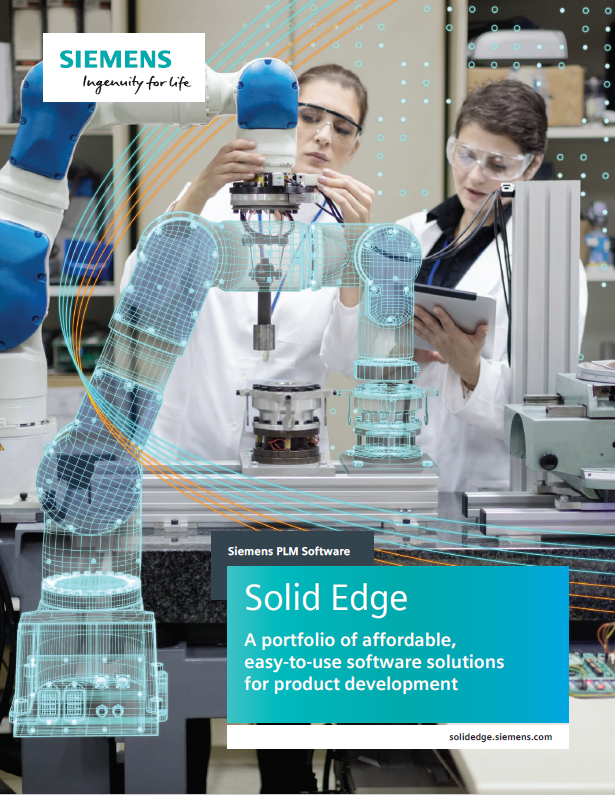 Solid Edge Brochure image