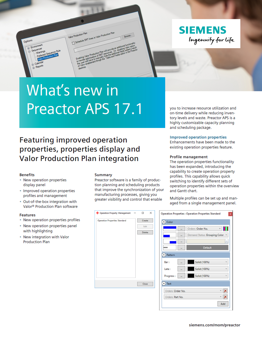 whats new in preactor brochure image