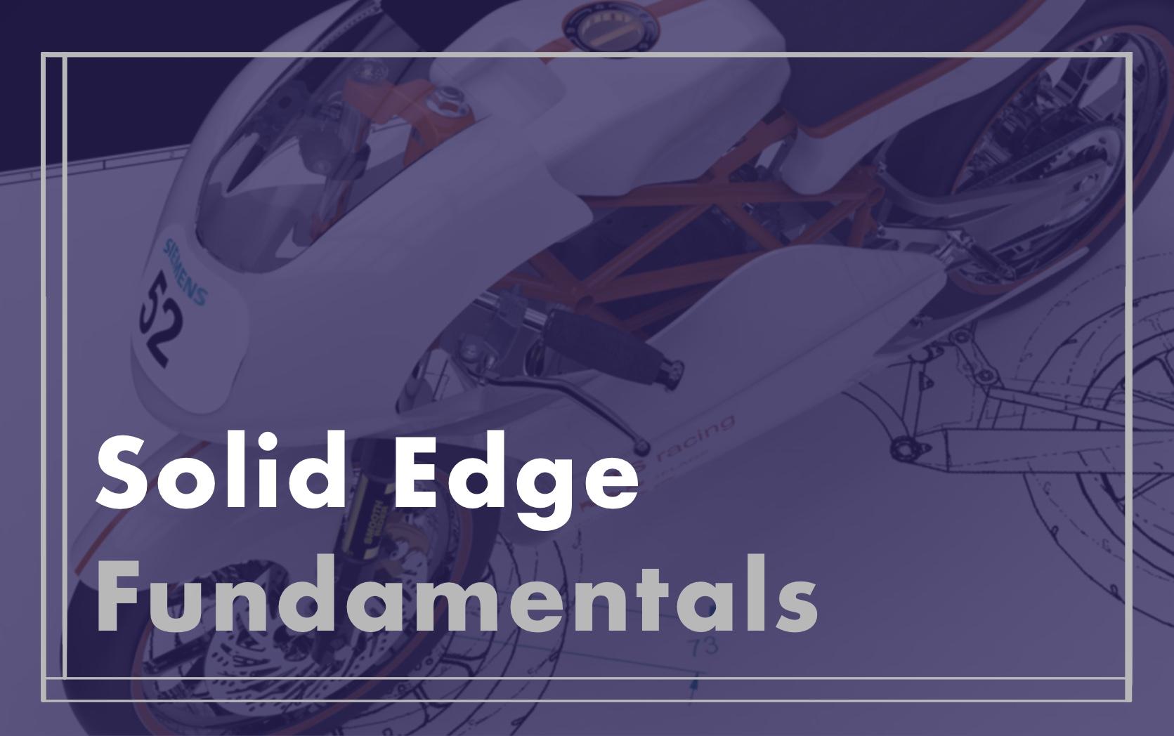 Solid Edge  Fundamentals course image