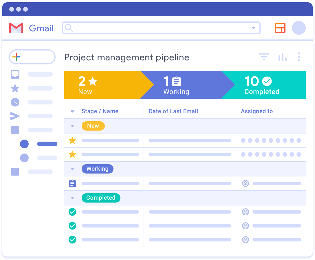 CRM BUILT INTO GMAIL