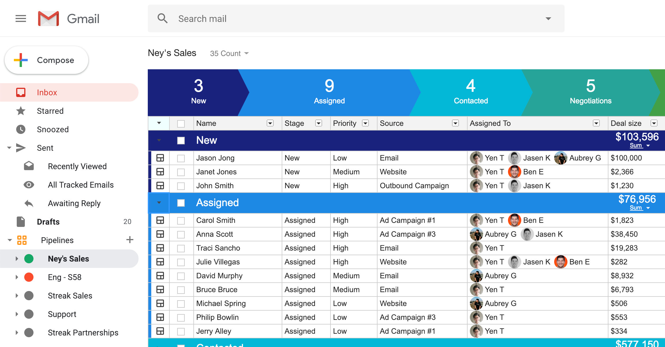 CRM for Sales | Streak - CRM for Gmail
