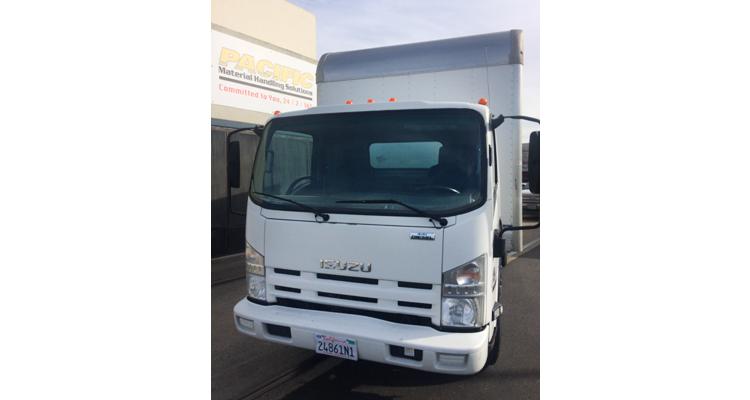 2014 Isuzu NPR Box Truck