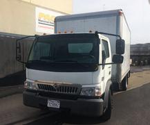 2006 International CF500 Box Truck