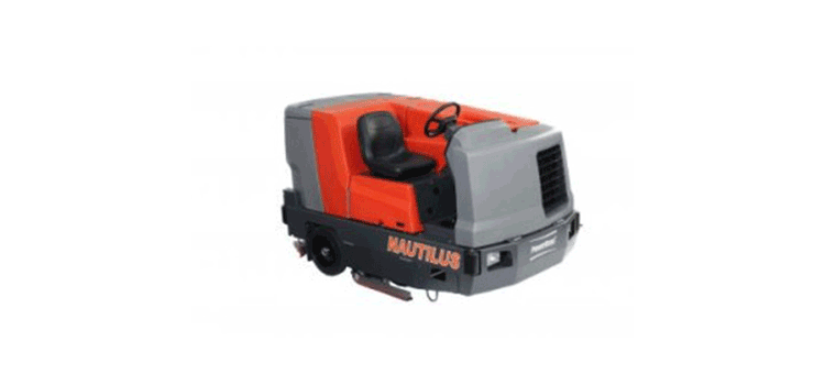 PowerBoss Rider Scrubber Nautilus
