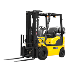 Hyundai Pneumatic Tire LP Powered Forklift
